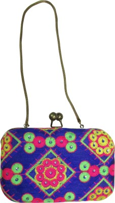 Dafter Luggage Women Wedding Multicolor  Clutch