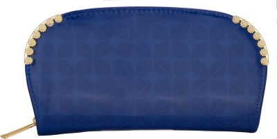 Aliza Women Casual Blue  Clutch