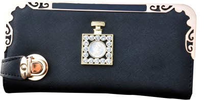SK-Effects7 Casual Black  Clutch