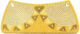 Zaira Diamond Women Gold  Clutch
