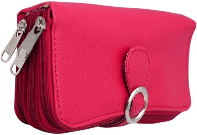 Magiq Women Casual, Formal Pink Artificial Leather Wallet