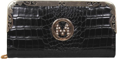 La Femme Essentials Women Evening/Party Brown Artificial Leather Wallet