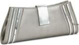 Swiss Design Women Silver  Clutch