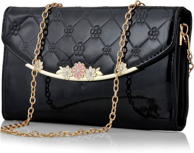 Eyeslanguage Party Black  Clutch