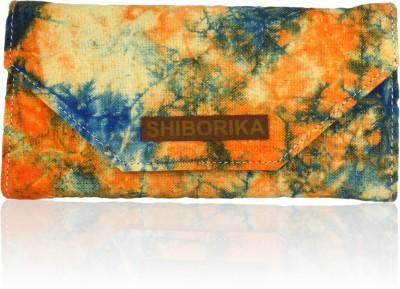 Shiborika Women Casual Orange  Clutch