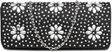 Dressberry Women Black  Clutch