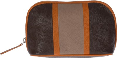 Traversys Women Casual Brown  Clutch