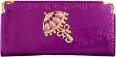 Aman Traders Purple  Clutch