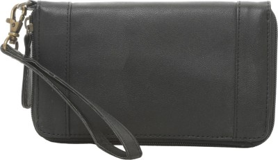 Famous by Payal Kapoor Casual Black  Clutch