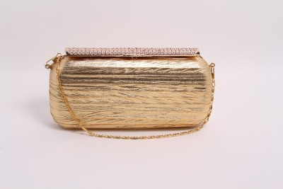 Pinkdivaas Party Gold, Silver  Clutch