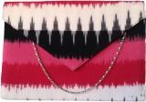 Avisha Creations Women Casual Pink  Clut...