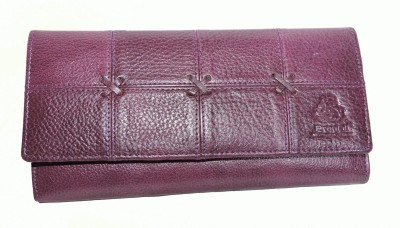 Pranjali Leather Women Party Pink  Clutch