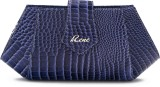 Rene Women Party Blue  Clutch