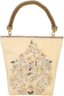 Rumani Creations Women Festive Gold  Clutch