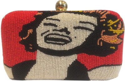 Niche Women Party Red, Yellow  Clutch