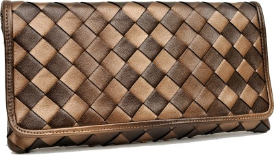 SG Collection Women Party Brown  Clutch