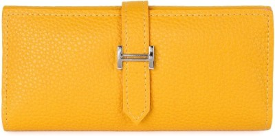 Kleio Formal, Casual Yellow  Clutch