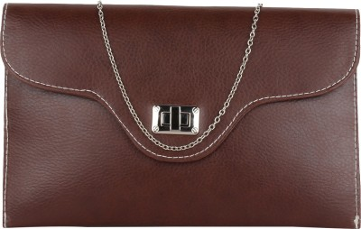 Cocktail Casual Brown  Clutch