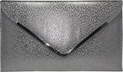 Paramsai Party Silver  Clutch
