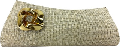 X-WELL Party, Wedding, Festive Beige  Clutch