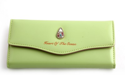 YBC Casual, Formal Green  Clutch