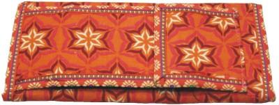 Vakula Exports Women Formal Orange  Clutch