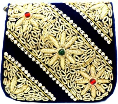 Anshul Fashion Wedding, Party, Festive, Formal Black  Clutch