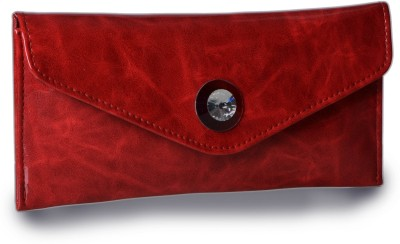 Contrast Women Casual Red  Clutch