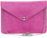 Vermello Women Casual Pink  Clutch
