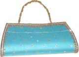 Asian Aura Women Blue  Clutch