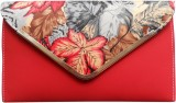 iTrend India Women Casual Red  Clutch