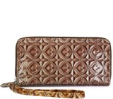 Fab Fashion Women Brown  Clutch