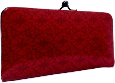 Bagzmania Women Formal Red  Clutch