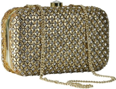 Sadaf Gold  Clutch