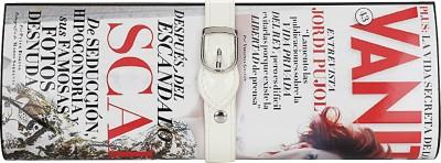 Eleegance Women Casual White, Red  Clutch