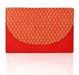 Cartera Women Red  Clutch