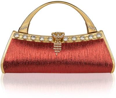 Fine Craft India Casual Red  Clutch