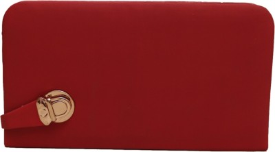 GENPURS Party Red  Clutch