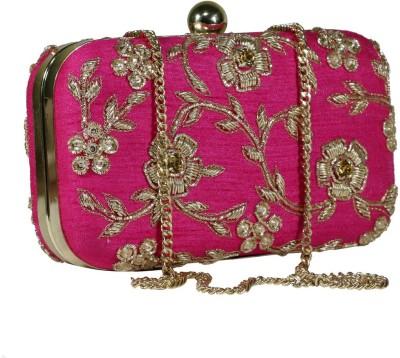 Sadaf Pink  Clutch