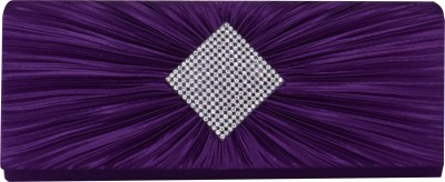 Glamora Party Purple  Clutch