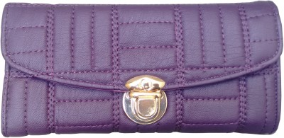 Ud Creation Purple  Clutch