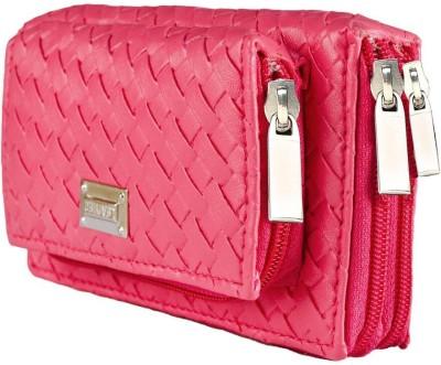 Magiq Women Party Pink  Clutch