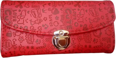 Ud Creation Casual, Party, Formal, Wedding Red  Clutch