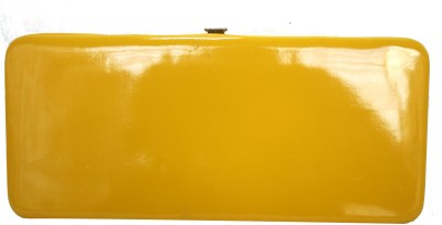 Hydes Girls Casual Yellow  Clutch