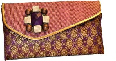 Women Trendz Women Casual Purple  Clutch