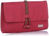 Yelloe Girls Casual Pink  Clutch