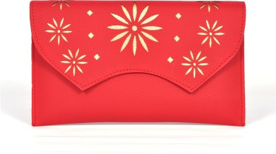 Modesty Creations Red  Clutch