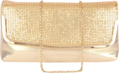 Lino Perros Party Gold  Clutch