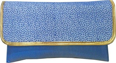 Angelfish Party Blue  Clutch