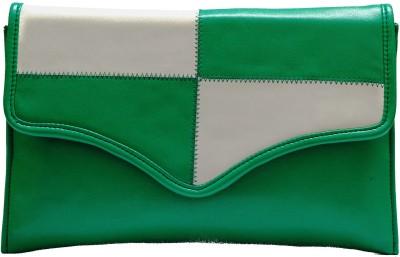 Designish Casual Green  Clutch